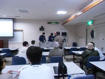 視覚障害者のための防災・避難訓練マニュアル講習その1