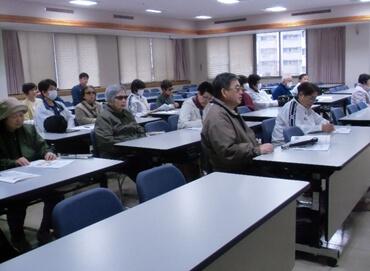 視覚障害者のための防災・避難訓練マニュアル講習その2